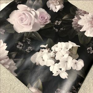 Nordstrom black floral wallpaper